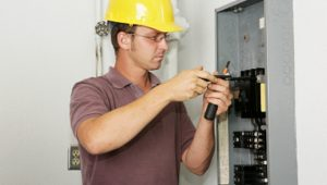 Electrical services by a qualified Contractor